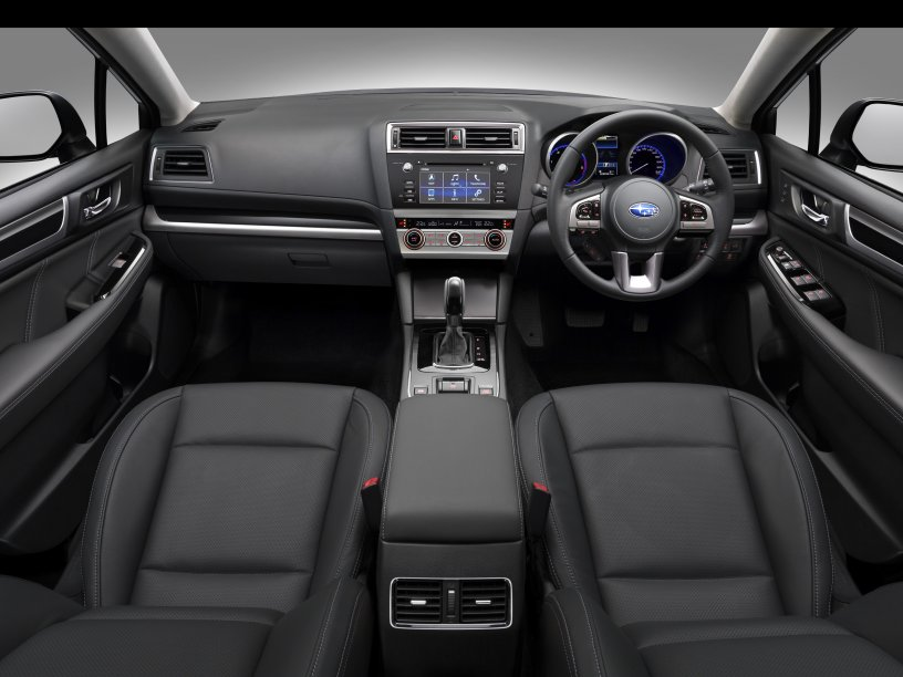 outback interior black leather