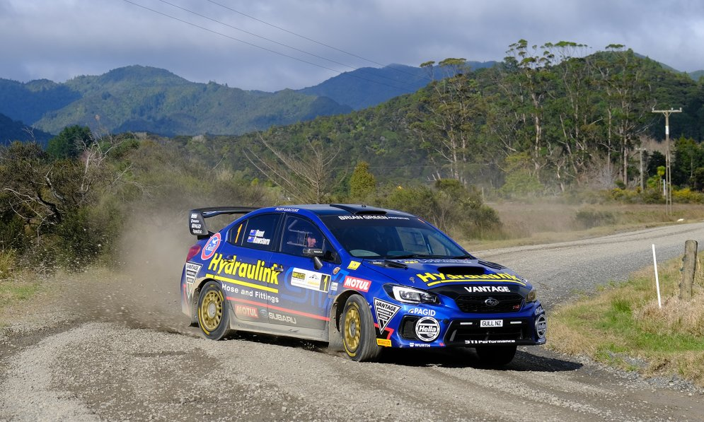 Ben Hunt won the New Zealand National Rally Championship in 2019 after a stellar year. Photo Credit: Geoff Ridder