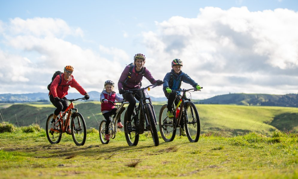 Ohakune Old Coach Road is perfect for beginners or family bike adventures.