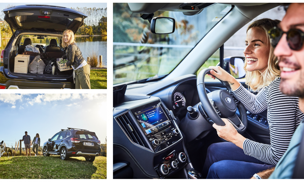 Art and Matilda Date Box Challenge - take a road trip in your Subaru together.