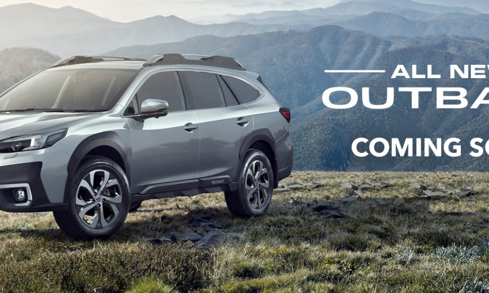 The all-new 2021 Outback - coming soon