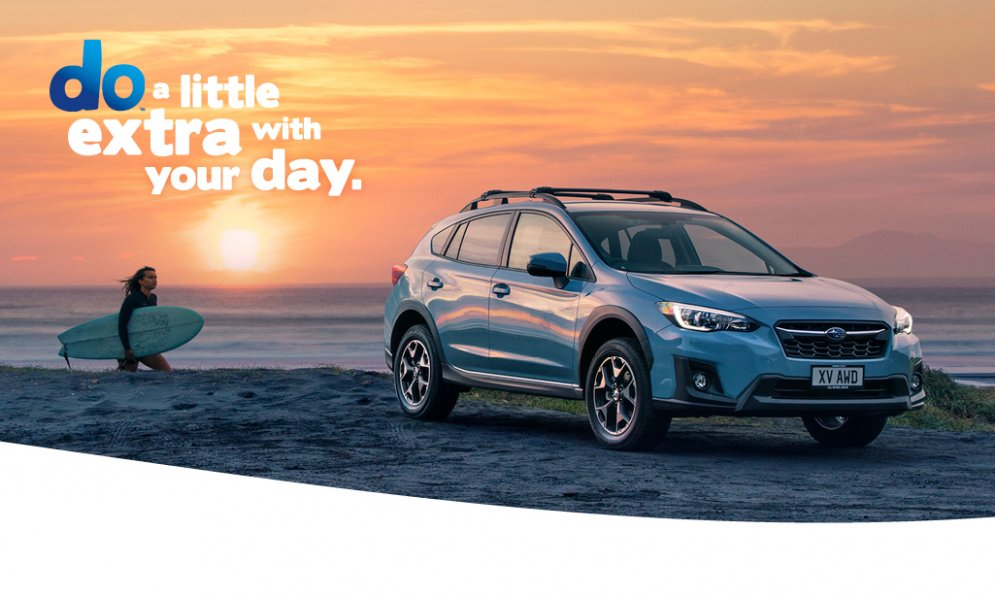 Do extra with your day with Subaru XV. XV Sport model shown