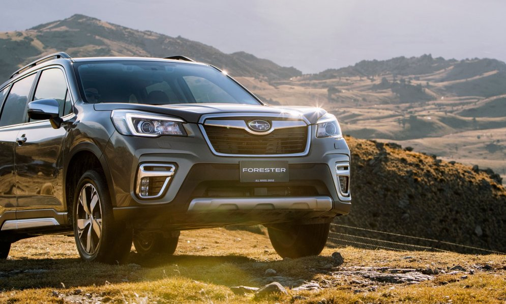 The Subaru Forester SUV