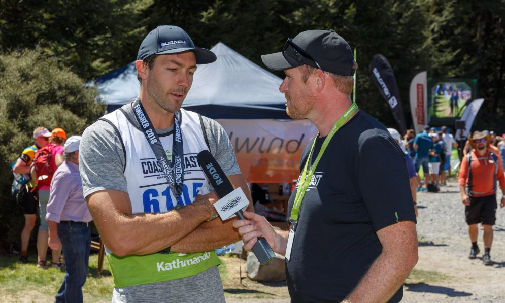 Art Green completed the mountain run of the coast to coast