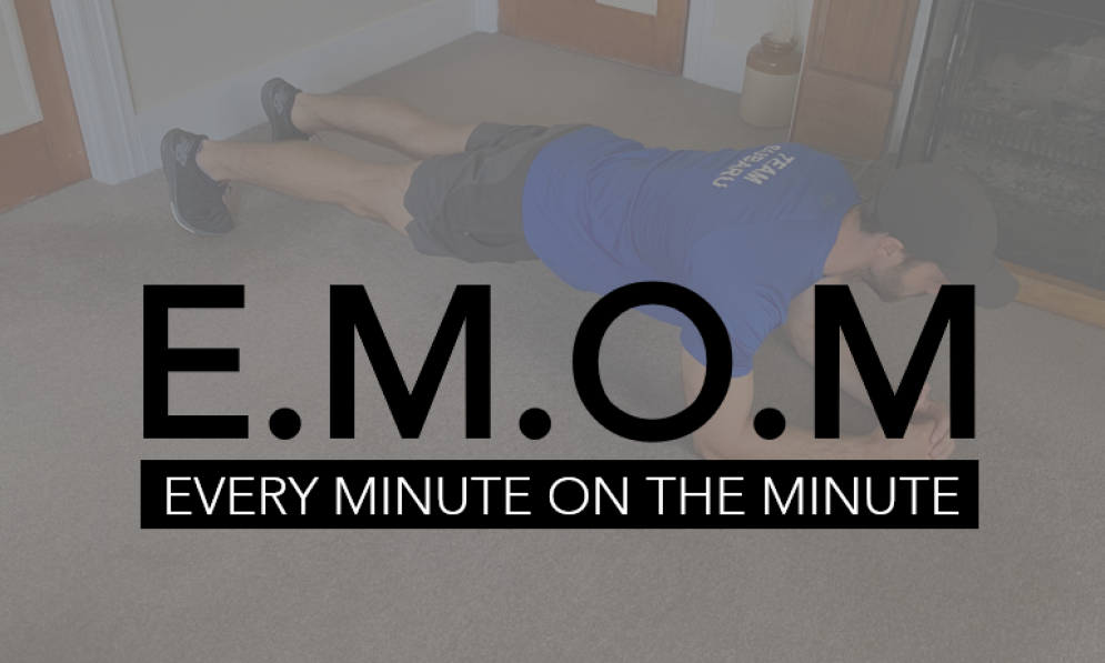 Art Green suggests trying an EMOM workout at home.