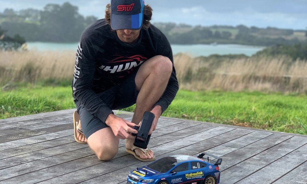 Ben Hunt has had more time on his hands with the NZ rally being postponed.