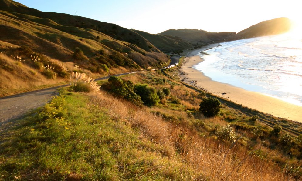 Escape to the East Cape on the East coast of NZ.