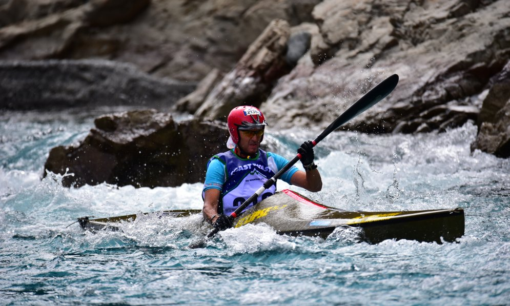 Stu Paterson makes sure he takes the right gear when he is kayaking.