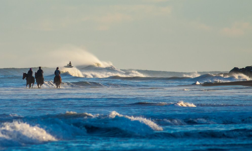 Travel the Taranaki surf highway for surfing and family friendly beaches.