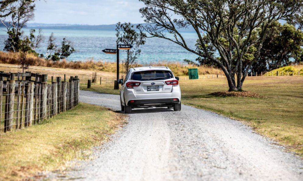 Drive slower on gravel roads as it takes longer to stop on unsealed roads.