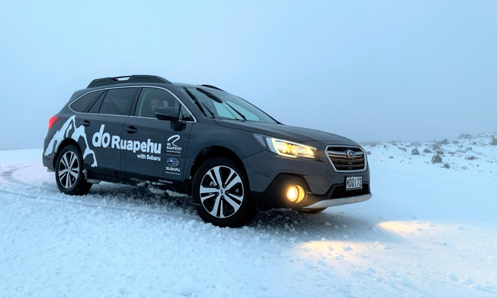 Subaru have been the official vehicle supplier for RAL for 22 years, with All Wheel Drive are the perfect vehicles for the conditions.