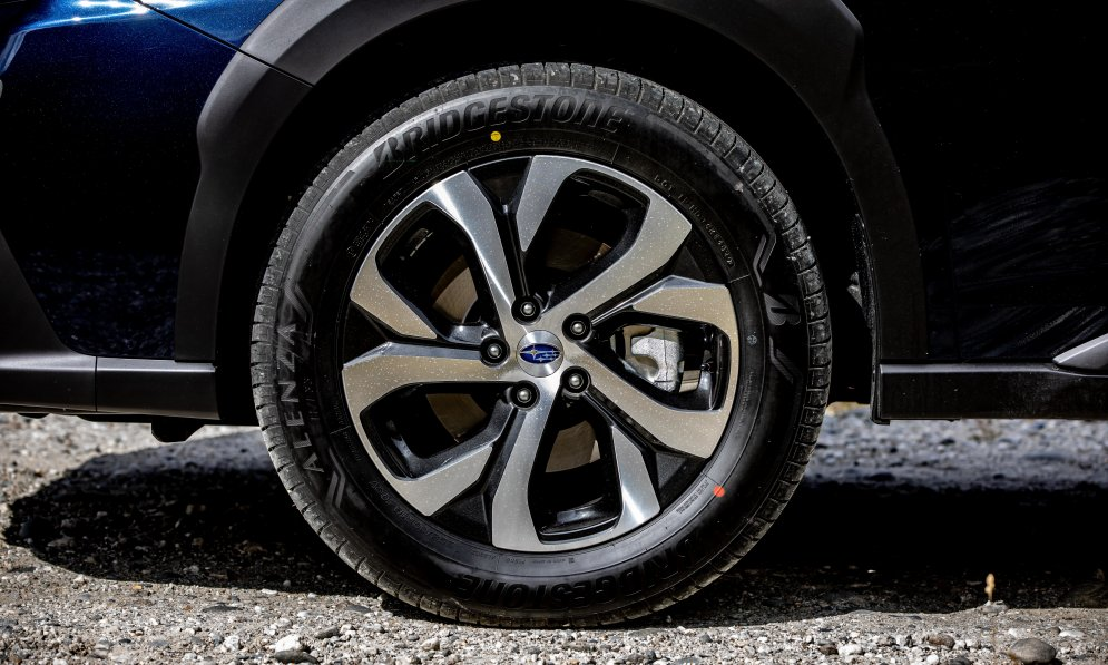 It's important to check your tyre tread and tyre pressure before driving on gravel roads