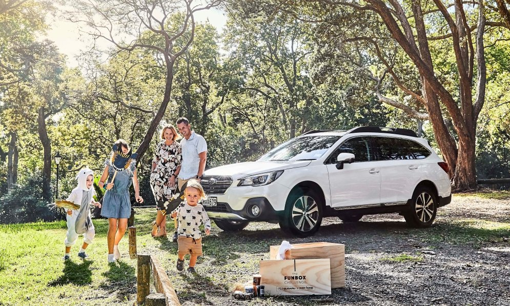 Subaru Outback is built for family adventures.