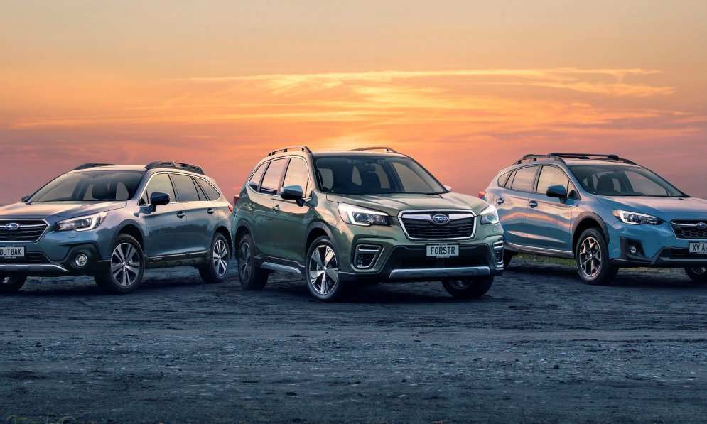 The Subaru SUV range - the perfect SUV to suit your lifestyle