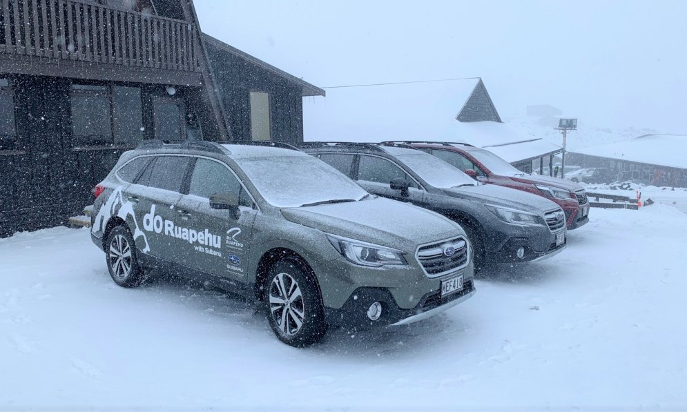 Subaru are the official vehicle supplier of RAL, All-Wheel Drive keeps them safe in all conditions.