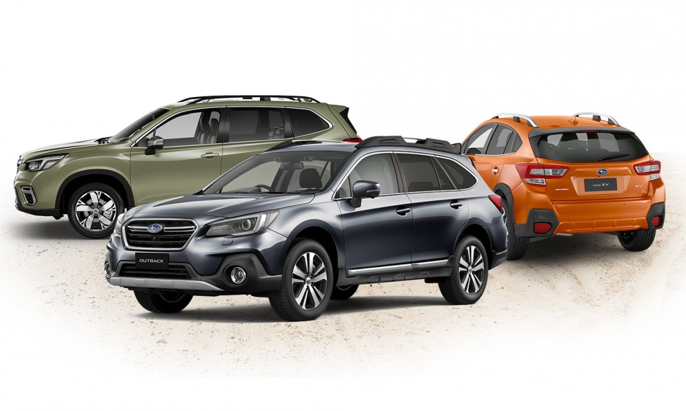 Subaru SUV - Outback, Forester and XV