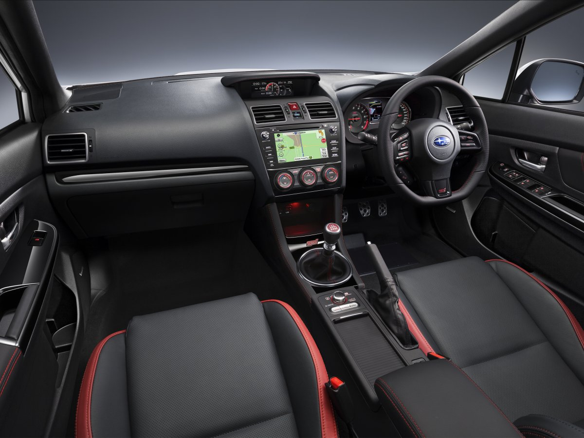Wrx sti base interior
