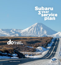 Subaru 3 year Service Plan brochure 2020